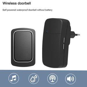 Doorbells Wireless Doorbell Self-Powered Outdoor IP68 Waterproof Door Bell 150m Long Distance 32 Songs Home Welcome