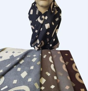 2021 new letter scarf. Winter shawl. Unisex, versatile style, soft wool, comfortable to wear.