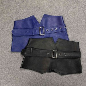 2021 Spring Fashion Women's brand new high quality Real Wide waistband Chic leather Belt B681