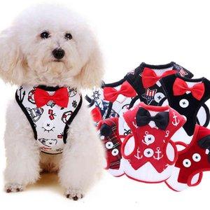 QICCO Dog Harness Conjunto De Curva De Natal Cachorro Cachorro Gato Colete Arnês Para Pug Bulldog Arnes Perro Cat Dog Harness Colete Pet Produto