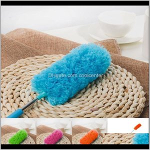 Dusters Housekeeping Organization Home & Garden Drop Delivery 2021 Adjustable Stretch Extend Microfiber Feather Duster Household Dusting Clea