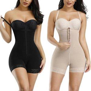 Secret Corset a Piece Women Open Bust Butt Lift Taille Trainer Bodysuit Shapewear Slender Body Shaper Underpants Belts