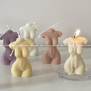South Korea Mannequin Style Hand-made Aromatherapy Birthday Gift Home Decoration Customized Creative Candle
