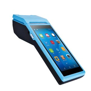 Android Handheld Terminal With 58mm Thermal Receipt Printer Cash Registers For Mobile Order ESIM 3G WiFi Printers