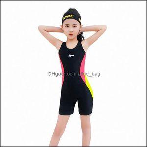 Childrens Sports & Outdoorschildrens Swimwear Swimming Child One-Piece Swimsuit Boys Girls Equipment Kids Swimwear,Swimming Suit Drop Delive