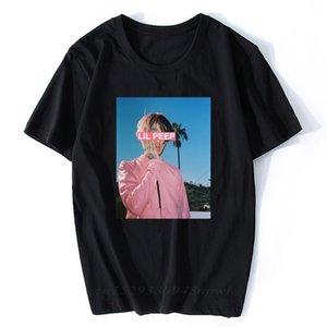 Hip Hop Man Lil Peep T Shirt Qualità Confortevole T-shirt in cotone Streetwear O-Collo Tees Top Vintage Vestiti estetici vintage 210420