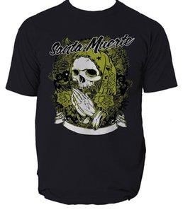 Святая смертная футболка Санта Мурте Испания Испании [WRCHEP6 @ 163.