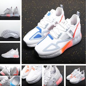 top quality basketball shoes Originals ZX 2K Boost Fashion Flat Luxurys Designers slides low Running Trainers jumpman mens and womens Boots Loafers sneaker 39-45