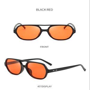 여성 선글라스 여름 대형 고품질 보그 하라주쿠 스트리트 스타일 빈티지 가파스 드 Sol Mujer Multi