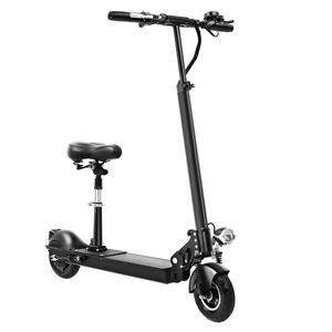 36V fold electric scooter folded adult driving 8 inch two wheel walk instead tool mini pedal battery bike portable E bike