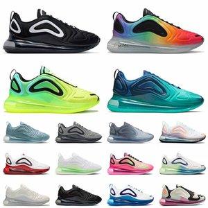 nike air max airmax 720 أحذية رياضية عالية الجودة 2021 و 720 وسائد للركض من Volt Black Sea Forest BE True Oreo ثلاثية بيضاء للرجال والنساء أحذية رياضية 36-45