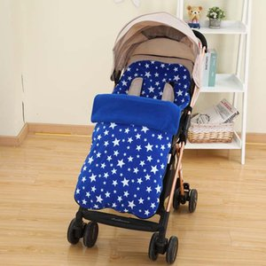 Stroller Parts & Accessories Baby Sleeping Bag Waterproof Warm Blanket Born Carriage Winter Foot Cover Protection Anti-kick Shake Down Quilt