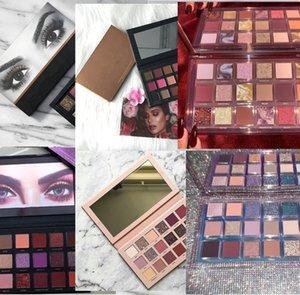 Palette de maquillage de Noël EPACK NUGHTY NUDE NUDESHADOW palette 18 couleurs Matte et Shimme Palette à paupières