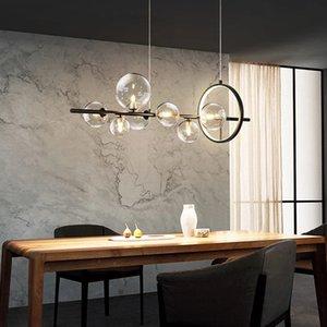 Modern Glass Chandelier lighting Pendant Lamps Chandeliers G9 Sockets Light Fixture Home Lights Living Room Kitchen Indoor Lustre