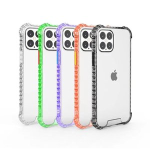 Acrylic Transparent Clear Phone Case Shockproof Cases For iPhone 12mini 12 12 Pro Max iphone11 11Pro 7 8 SE
