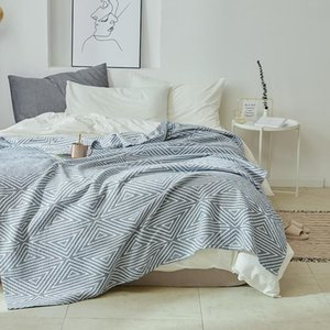 Summer Towel Quilt Cotton Blanket For Bed Air Condition Thin Comforter Duvet Bedspread Cover Bedding Couverlet Home Textile Comforters & Set