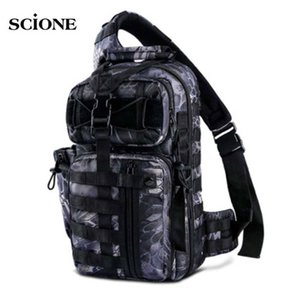 Military Army Sling BagHunting Backpack for Men Molle Tactical Rucksack Travel Sac De Sport Outdoor Camping Bag Fishing XA764+WA Y200920