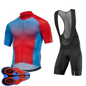 MAVIC Team Men Cycling Jersey Bib Шорты Костюм Летние Дышащие MTB Велосипеда Одежда Горный Велосипед Носить ROPA Ciclismo S21070817