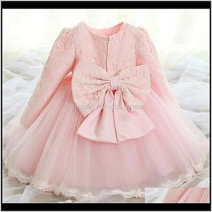Girls Dresses Clothing Baby, Kids & Maternity Drop Delivery 2021 Born 1 Year Birthday Dress 2Nd Baby Christening Gowns Toddler Girl Baptism O