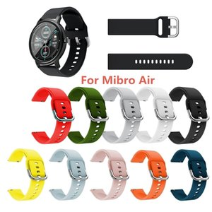 20mm 22mm Watchband for Silicone Replacement Band Wrist Strap Xiaomi Mibro-Air Watch