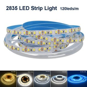 Led Strip Lights 2835 DC12V 24V 120LEDs m 8mm Width 5M Low Voltage Soft Lamp For Home Decoration Colorful Strips
