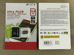 Hohe Qualität Neue Ultra Ultra A1 16 GB / 32 GB / 64GB / 128 GB / 256GB Ist-Kapazität Micro-Speicher SD-Karte 100 MB / S-Kamera UHS-I C10 TF-Karte