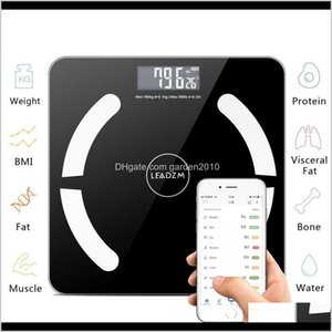 Household Bluetooth Bathroom Weight Smart Body Fat Electronic Scales Floor Bmi Digital Fitness Scale 396Lb180Kg Item Obkzq D5Nit