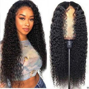 Lace Wigs Mongolian Kinky Curly For Women 150% Density 13x4 Frontal Wig Desgirl Hair Front Human