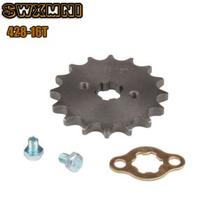 Front Engine 428# 16T Teeth 17mm 20mm Chain Sprocket With Retainer Plate Locker For Dirt Pit Bike ATV Quad Go Kart Moped Buggy Assembly