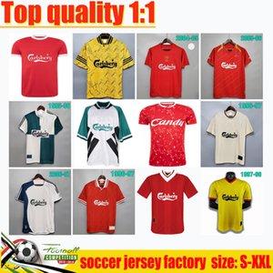 Gerrard 04 05 İstanbul Gece Retro Futbol Forması 1982 Dalglish Camisas Futebol Fowler 1989 Maillot 06 07 Barnes 08 09 Rush 97 95 96 85 93 LVP Uzakta Yeşil Gömlek McManaman