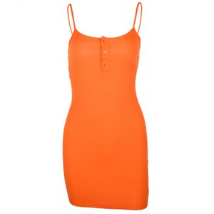 Summer Sexy Women Sleeveless Spaghetti Strap Bodycon Dresses Lady Knee Length Beach Dress for Woman