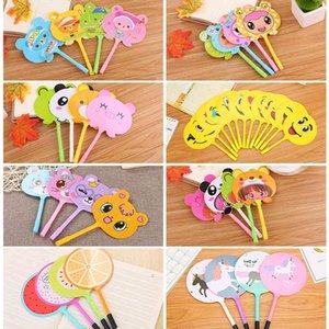 Cartoon creative student prize gift fan ballpoint pen cute stationery advertisement09UG