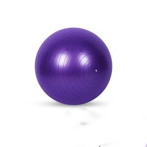 PVC Patlamaya dayanıklı Yoga Balls.Yoga Studio Fitness 75 Parlak Mat Pilates Topu Kalınlar