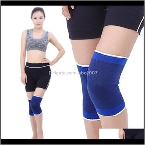 Pads 1Pcs Warm Knee Wrap Support Compression Sleeve Stabilizer For Sport Protection Guard Protector Running Strap Bandage Cycling Elbo Qvf6F