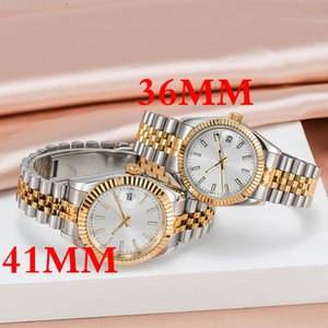 supermarket_watches U1 quality Mens Watches 36 41mm Automatic Movement Stainless Steel Watch 36 41mm women 2813 Mechanical Wristwatches Luminous montre de luxe