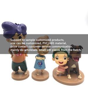 Пользовательские фигуры ручной работы для образца PVC кукол пластиковые игрушечные настольные игры Black Box