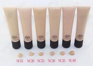 Maquillage Fondation liquide Bricoler Brighten Blanchissage de longue durée Nutritive Natural Nutritritious Facile à porter Premières de maquillage Compagnon Base SPF15