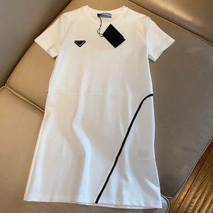 Женские платье без рукавов джинсовая рубашка для весеннего летнего туалета повседневный стиль с письменной буквой спинг леди тонкие платья платья плиссированные юбка на молнии