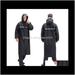 Raincoats 3 Size Oxford Cloth Thicken Adult Outdoor Work Reflect Light Lightweight Walking Poncho Raincoat Household Sundries Ha1176 P Vy6Fu