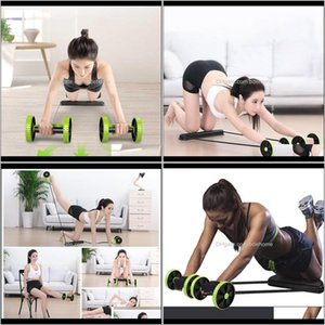 Athletic Outdoor Accs Sports & Outdoors Drop Delivery 2021 Beginners Ab Wheels Roller Mens And Womens Belly Roll Hine Waist Abdominal Muscle