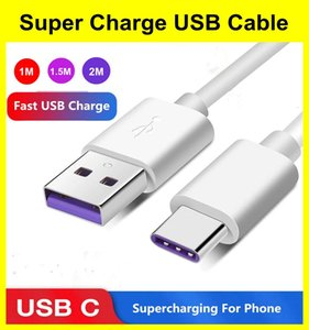 Type-C Cables For Samsung S20 S9 S8 Xiaomi Huawei P30 Pro Fast Mobile Phone Charger Wire USB Cable
