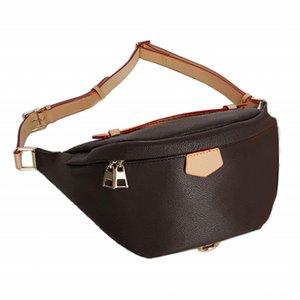 Luxury Designers Stlye Yellow line Waist Bags famous brand Bumbag Cross Body belt bag designer fanny pack wristlet purse HHQL137