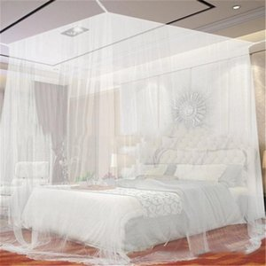 Crib Netting Oversized Outdoor Camping Mosquito Net Canopy Bed Curtain Repellent Tent Insect Reject 4 Corner Post Travel