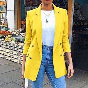 Fashio Blazer Elegante primavera Mujer Casual Work Wea Summer Feminina Women Giacche Cappotto 2021 Abiti da donna Blazer