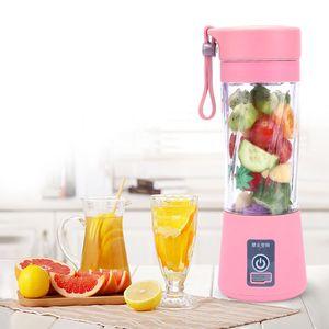 Кухонные инструменты Портативный USB Electric Fruit Соковыжималка Ручной Овощной Соковыжимается Блендер Аккумуляторная Мини Делать чашку с зарядным кабелем
