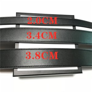 2021 Fashion Big buckle genuine leather belt with box designer men women high quality mens belts AAA8