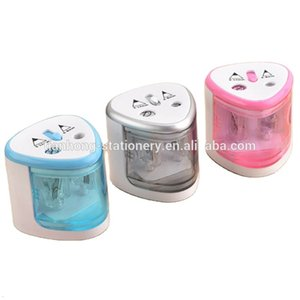Tenwin 8004 Best Selling Automatic Pencil 2 Hole Sharpener Electric Stationery For Office And School