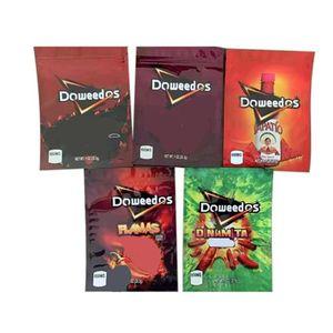 Doweedos Mylar Bag 600 мг Пустой пакет запах пахня пакета мешки для сухой травы цветы