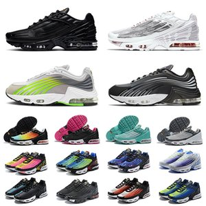 2021 nike air airmax max tn 3 plus 2 turned tns tn3 III ultra se stock x yeni varış spor ayakkabı lazer mavi erkek bayan koşu ayakkabıları tüm siyahlar beyaz eğitmenler