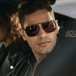 Wholesale hot sell luxury handsome casual sunglasses new fashion glasses trendy personality net celebrity